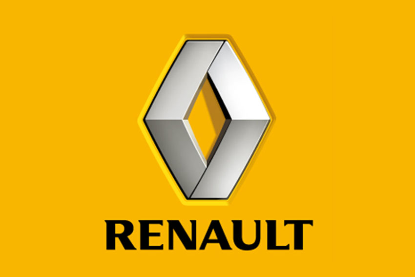 Renault's new LOGO reappeared in 1972