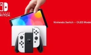 Nintendo Switch OLED United Kingdom launch is substantially larger than Switch Lite